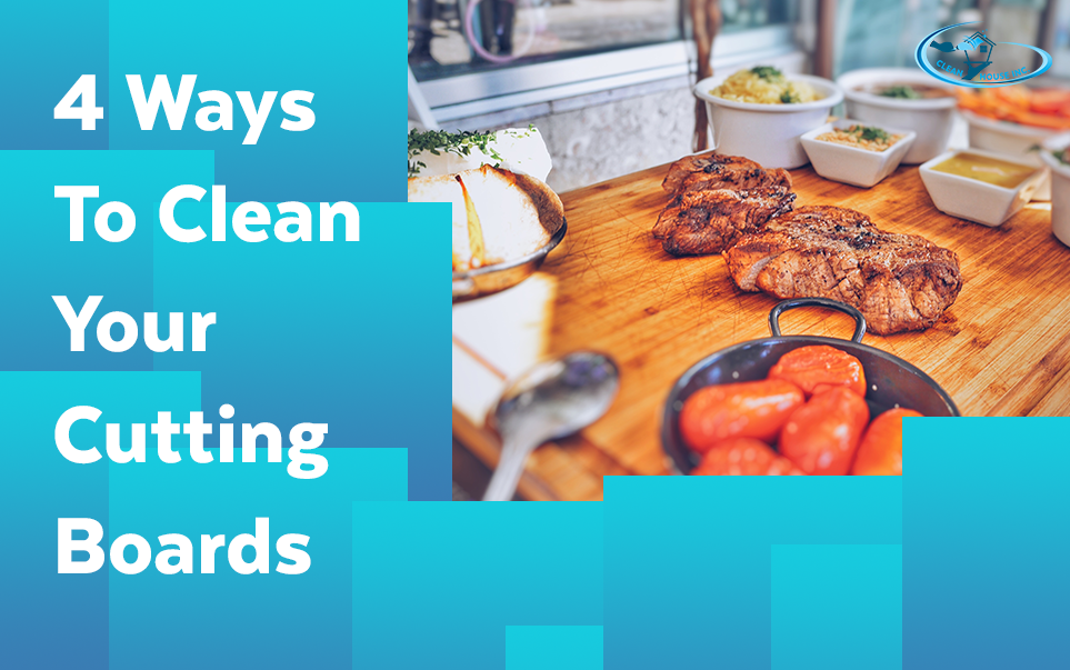 4 Ways To Clean Your Cutting Boards