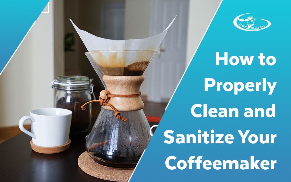 How to Properly Clean and Sanitize Your Coffeemaker