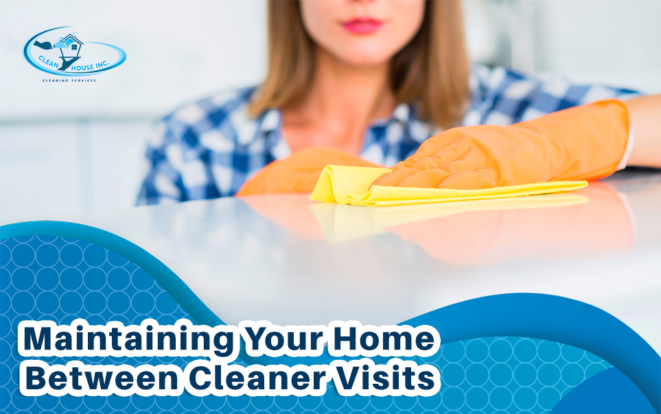 Maintaining Your Home Between Cleaner Visits