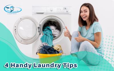 4 Handy Laundry Tips
