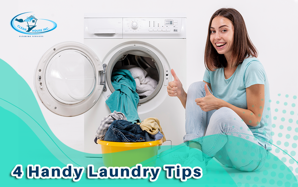 4 Handy Laundry Tips
