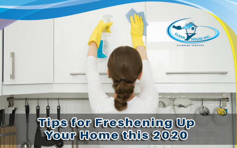 Tips for Freshening Up Your Home this 2020