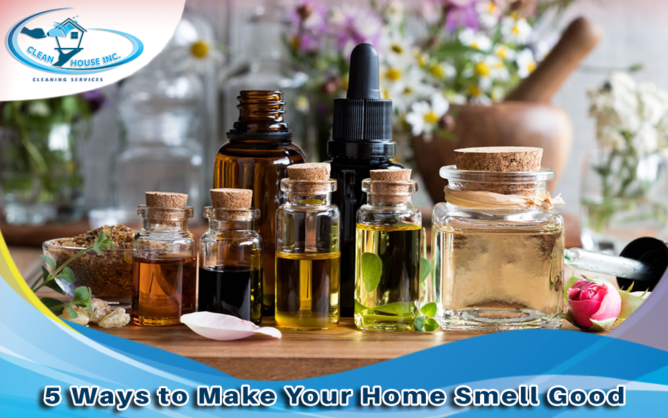 5 Ways to Make Your Home Smell Good