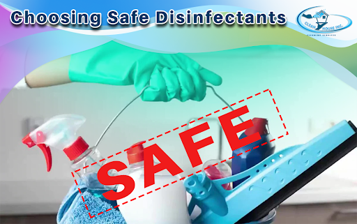 Choosing a Safer Disinfectant for Your Home