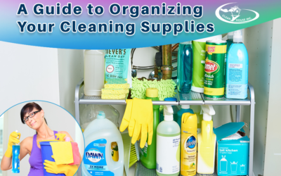 A Guide to Organizing Your Cleaning Supplies