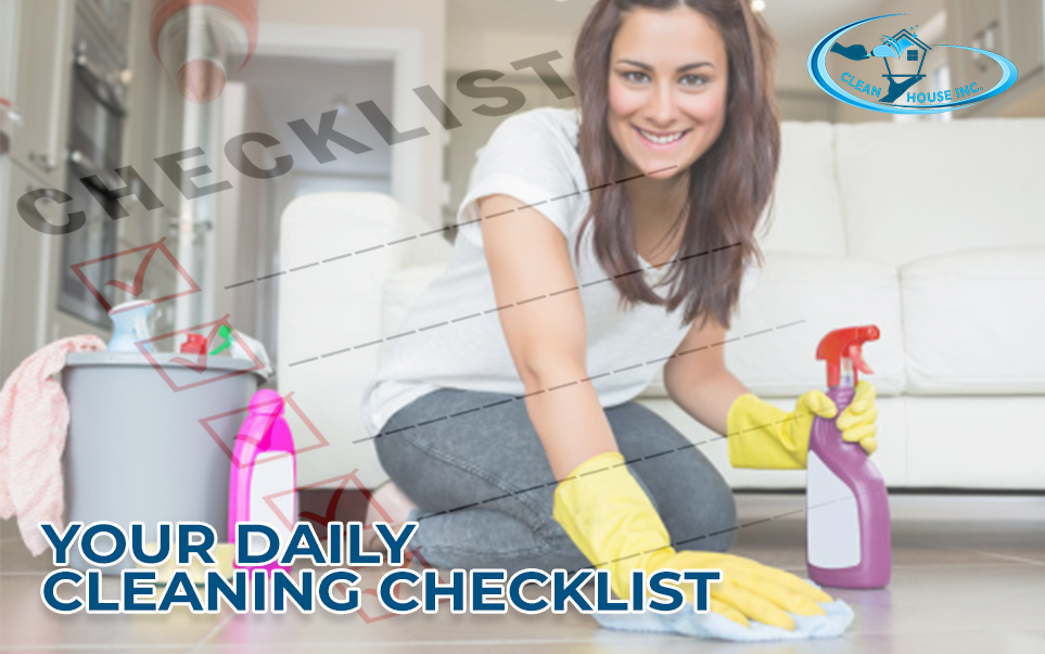 Your Daily Cleaning Checklist