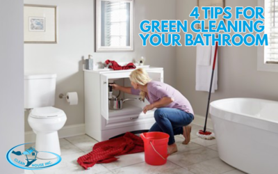 4 Tips for Green Cleaning Your Bathroom