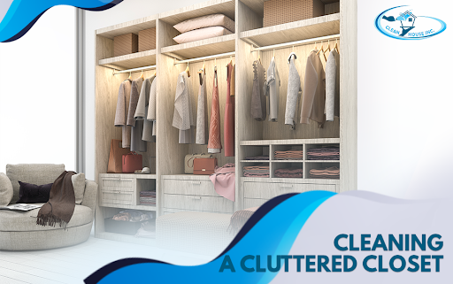 Cleaning A Cluttered Closet