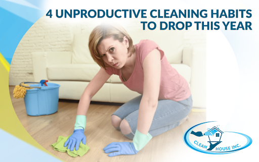4 Unproductive Cleaning Habits To Drop This Year